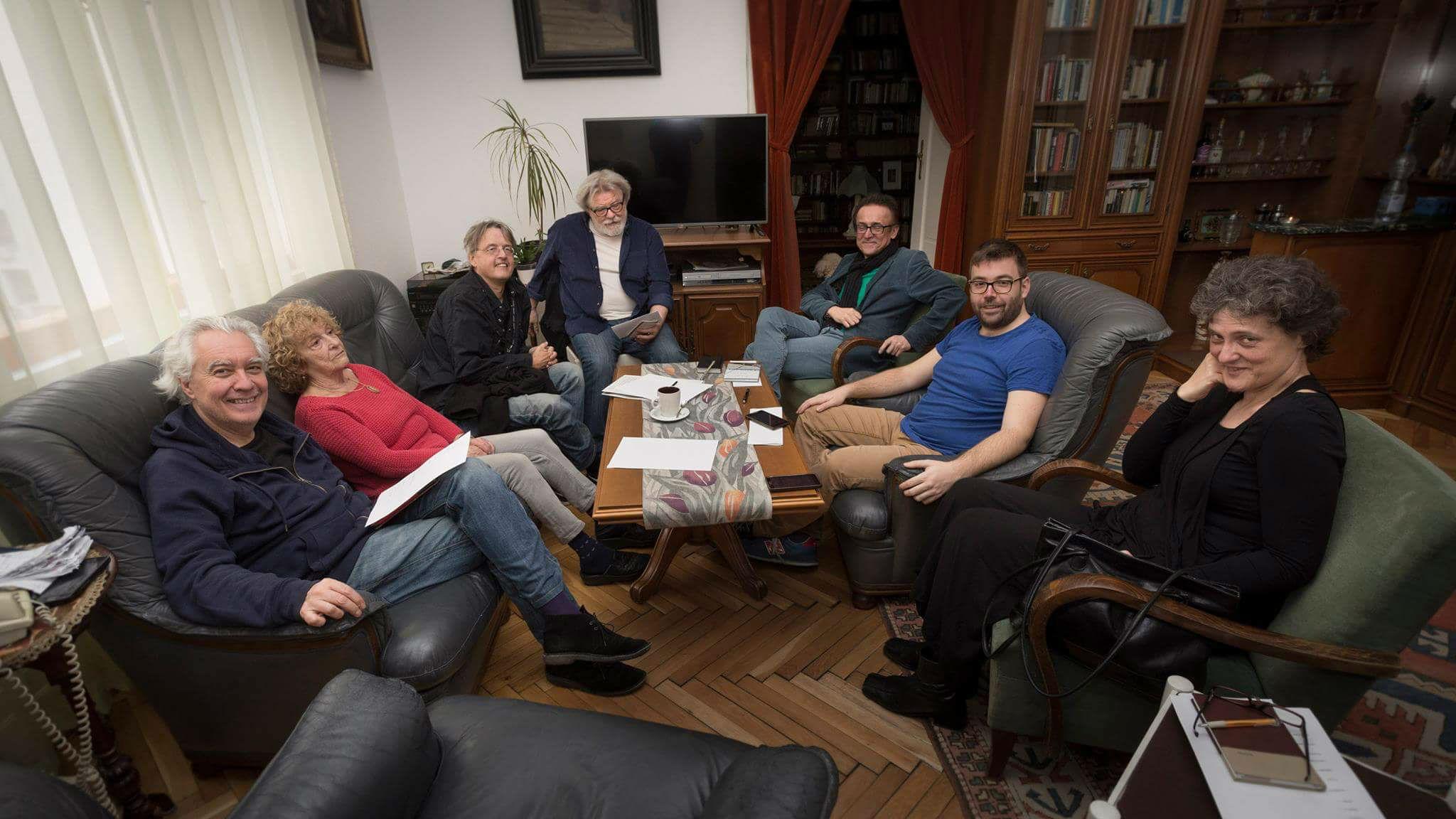 A zsűri tagjai (Fotó: Déri Miklós)