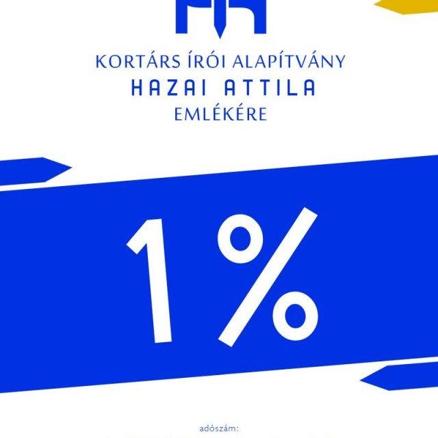 Egy százalék – mondta Feri.