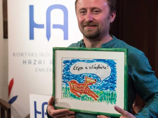 Orcsik Roland kapta a 2018-as Hazai Attila-díjat