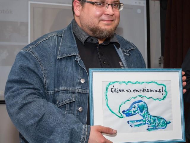 Nemes Z. Márió kapta a 2019-es Hazai Attila-díjat